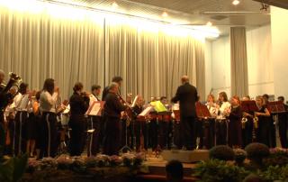 Jubiläumskonzert des Musikverein Ebnet 2013