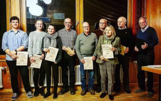 Mitgliederversammlung 2019 des Musikverein Ebnet e.V.
