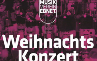 Weihnachtskonzert 2014 des Musikverein Ebnet e.V.